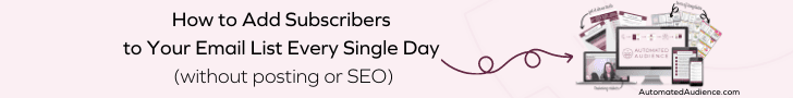 How to Add Subscribers to You Email List Every Day